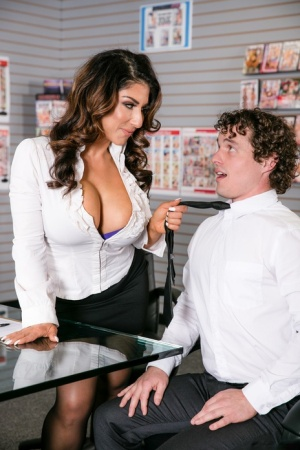 Big Tits In Office Porn